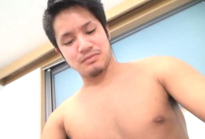 浩二20歳、鳶。初めての男フェラに気持ちいいを連発しアナルセックスで感じまくるガテン系ノンケ